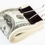 10 thousand US dollars Bundle — Stock Photo