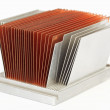 CPU cooler radiator — Stock Photo #3299280