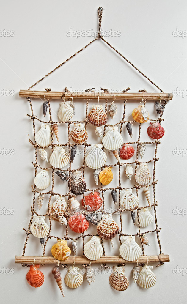 Sea shell decor — Stock Photo #3478166