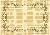 Elegante frame. vector. — Stockvector