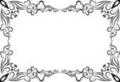 Retro-styled frame. Vector — Stock Vector