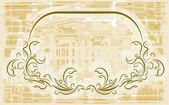 Elegant frame. Vector. — Stock Vector