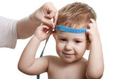 Measuring child — Stock Photo