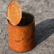 Rusty can — Stock Photo #3015350
