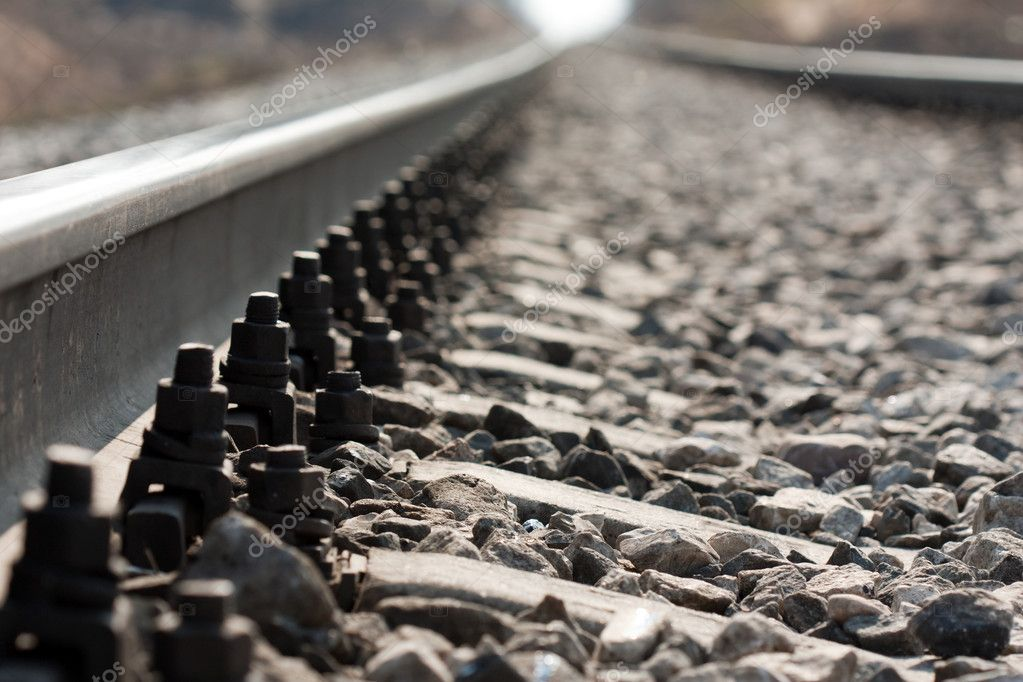 Journey travel transportation track train railroad — Stock Photo #3015325
