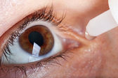 Medicine eyedropper — Stock Photo