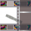 Stock Vector: Filmstrip