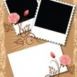 Royalty-Free Stock Vector Image: Page layout photo album