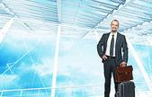 Businessman travel — Stock Photo