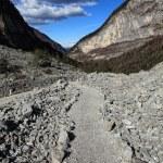Rock mountain way — Stock Photo