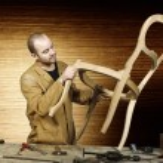 Craftsman at work — Stock Photo