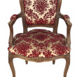 Italian vintage armchair — Stock Photo