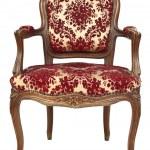 Retro floral armchair — Stock Photo #2952525