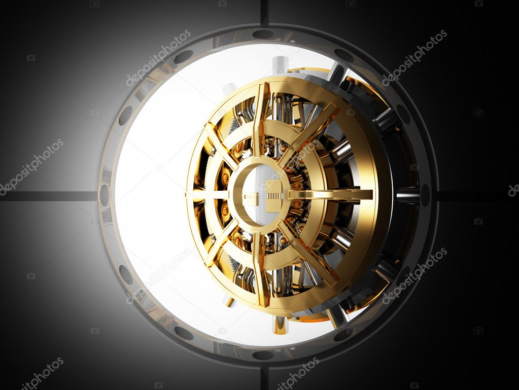 Bank Door Vault 3d Stock Photo 169 Jukai5 3005092