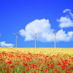 Elektriciteitscentrale wind — Stockfoto