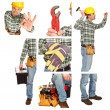 Detail of manual worker — Stock Photo