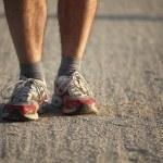 Detail of runner — Stock Photo