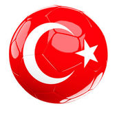 Bola de futebol da Turquia — Fotografia Stock