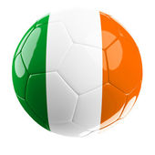 Ireland soccer ball — Stock Photo