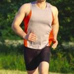 Runner portrait — Stock Photo