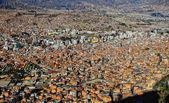 La paz bolivia — Stock Photo
