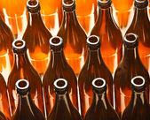 Sfondo di bottiglia — Foto Stock