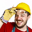 Stock Photo: Manual worker portrait