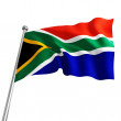 South africa flag — Stock Photo #3378693