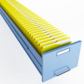 Infinite file cabinet — Stock Photo