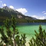 Tovel lake landscape — Stock Photo