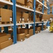 Warehouse - Stockfoto