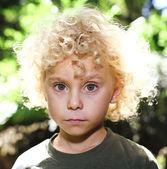 Young child portrait — Stock Photo