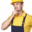 Manual worker thinking — Stock Photo #3633058