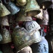 Ancient thai bells — Stock Photo