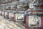 Detail of Wat Arun temple — Stock Photo