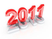 Año nuevo viene — Foto de Stock