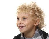 Портрет молодой белокурый мальчик — Стоковое фото