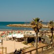 Stock Photo: Beach in Tel Aviv
