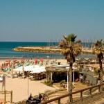 Beach in Tel Aviv — Stock Photo