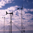 Small Wind Turbines — Stock Photo #2709307