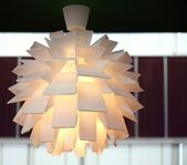Modern Light Fixture — Stock Photo