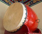 Large Chinese Drum — Stock Photo