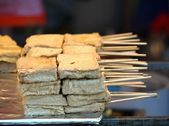 Chinese Smelly Tofu Snack — Stock Photo