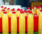 Selling Fresh Orange Juice — Stock Photo