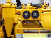 Partial View of Sewage Truck — Stock Photo