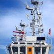Detail of Coastguard Ship — Stock Photo #3636213