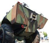 Amphibious Military Vehicle — Stock Photo