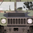 Stock Photo: Powerful Army Off Road Vehicle