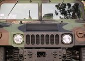 Powerful Army Off Road Vehicle — Stock Photo