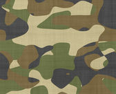 Jungle camouflage fabric — Stock Photo